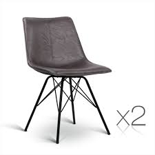2x Retro Eames Dining Chair Eiffel DSW Replica Cafe Slope PU Leather Walnut 100 Ding Chair Australia Chairs Tulip Fenton Leather Modern Parsons Midback Chocolate Faux Set Of 2 Zoe Scoop Back Chairs Neo Bronze Pack Costco Uk Espen X 12th Floor Room Extravagant Your House Newcastle Worlds Away Eichholtz In 2019 Cafe Koltuk White Teak Brown Herman Miller