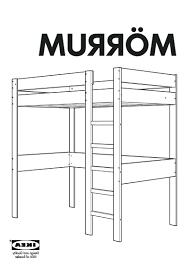 Ikea Mandal Headboard Instructions by Ikea Mezzanine Bed U2013 Thepickinporch Com
