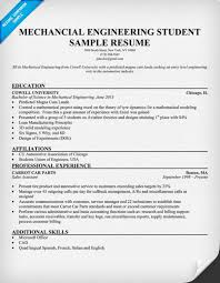 Download Free Resume Samples For Mechanical Engineers Of Technician