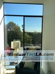 Solyx Decorative Window Films by Huper Optik Ceramic 50 And Solyx Acid Etch Window Film Installed