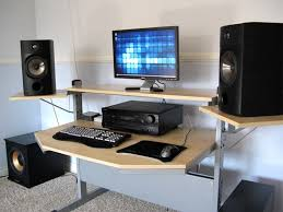 Studio Rta Producer Desk by Studio Desks With Low Monitor Screen Heights