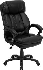 High Back Black Leather Executive Swivel Ergonomic Office Chair With Plush  Headrest, Extensive Padding And Arms Mooreco Ergo Ex Ergonomic Office Chair Black Seat 5star Base 21 Width X 1850 Depth 28 24 51 Height Details About High Back Executive Computer Desk Swivel Armrest Leather With Plush Headrest Extensive Padding And Arms Allsteel Relate Ergonomic Chairs Fniture I Ergoprise Houston Texas 8779078688 Seating Tx Spigner Push Task Standing Desks Austin Ergonomic Home Tbc Control Room Desk Ehst3ebl Sit Stand Recling Adjustable Chiars Steelcase Leap V2