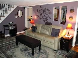 living room border purple living room with light grey border walls