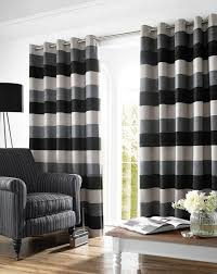 bromley lined eyelet curtains in slate free uk delivery terrys
