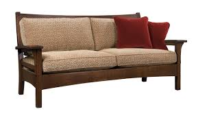 Stickley Mission Leather Sofa by Sofas Couches