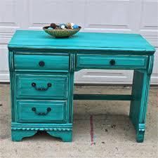 Patina Green Vintage Desk Turquoise Vanity Bedroom Furniture TV Stand Storage Distressed Rustic On Etsy
