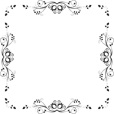 Click To See Printable Version Of Leafy Simple Border Paper Craft