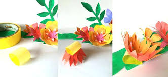 Best Ideas About Paper Flower Bouquets On Crown Making With Craft Kit