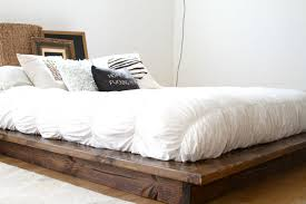 Low Platform Bed Frame And Mattress