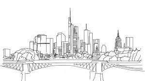 Pin Drawn Bulding Cityscape 13