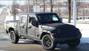 New 2019 Jeep Scrambler Truck Spy Photos Emerge | Quadratec New 2019 Ram Allnew 1500 Laramie Crew Cab In Waco 19t50010 Allen 2018 Jeep Truck Price Pictures Wrangler Unlimited Jl New Ram Trucks Blog Post List Hall Chrysler Dodge Jt Pickup Truck Spotted Car Magazine Top Car Reviews 20 Best Electric Performance Trucks Ewald Automotive Group For The Is Pickup Making A Comeback Drivgline Review Youtube There Are Scrambler Updates You Need To Know About Carbuzz