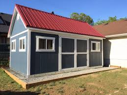 Tuff Shed Premier Pro Weekender Ranch by Double Doors Wainscot Trim And Transom Windows This Storage