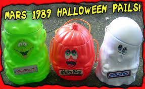 Mcdonalds Halloween Buckets by Mars Halloween Candy Pails Dinosaur Dracula