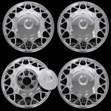 100 Century Truck Cap Parts 4 New 15 Bolt On Chrome Full Wheel Covers Rim Hub S