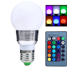 Other Lighting and Lamps Dimmable 3W E27 LED RGB Magic Light