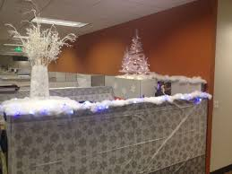 office cubicle christmas decorating ideas styles yvotube com