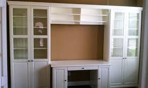 Ikea Hemnes Desk Uk by Hemnes Desk With Add On Hemnes Storage Unit With Bridge And Desk