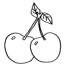 Printable Coloring Pages Fruits And Vegetables Free Of Fruit Bowl Christian
