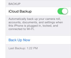 How To Backup iPhone iPad iPod Touch Using iCloud
