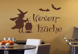 hexenküche hexe küche aufkleber essen esszimmer deko wandaufkleber wandtattoo ebay