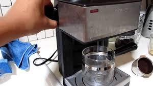 Mr Coffee ECM 160 Pulling The Best Shot Of Espresso
