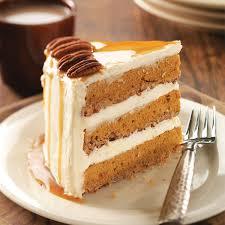 Pumpkin And Cake Mix Dessert by Pumpkin Pecan Spice Cake Recipe Taste Of Home