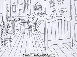 fantastische färbung das schlafzimmer gogh museum