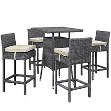 Outdoor Modway Summon Wicker 5 Piece Square Patio Pub Set ... Details About Barbados Pub Table Set W Barstools 5 Piece Outdoor Patio Espresso High End And Chairs Tablespoon Teaspoon Bar Glamorous Rustic Sets 25 39701 156225 Xmlservingcom Ikayaa Modern 3pcs With 2 Indoor Bistro Amazoncom Tk Classics Venicepubkit4 Venice Lagunapubkit4 Laguna Fniture Awesome Slatted Teak Design With Stool Rattan Bar Sets Video And Photos Madlonsbigbearcom Hospality Rattan Soho Woven Pin By Elizabeth Killian On Deck Wicker Stools