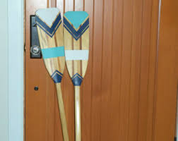 Decorative Oars And Paddles by Hand Painted Decorative Canoe Paddle Oar Wall Art The Right