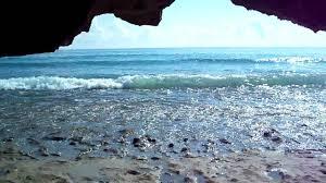 bathtub beach beautiful beach rocks caves and waves chastain