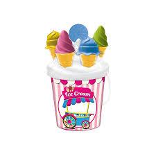 Ice Cream Bucket Set 17cm The Entertainer