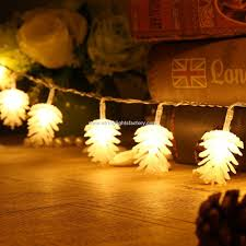 Pine Cone String Christmas Tree Lights 148ft Fairy Lgihts