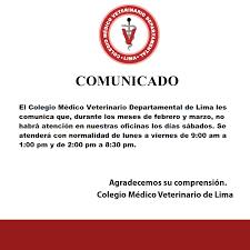 Noticias Página 9 Colegio Médico Veterinario De Lima