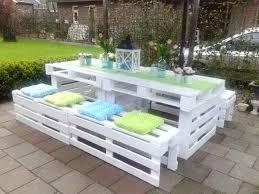 canapé en palette de bois canape exterieur palette mobilier de jardin avec des palettes