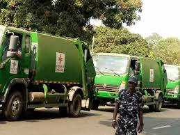 100 Waste Management Garbage Truck 30 Green Garbage Collection Trucks Arrive In Freetown From China