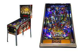 Metallica Offer First Look At Their Upcoming Pinball Machines