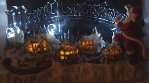 Thomas Kinkade Christmas Tree Wonderland Express by Thomas Kinkade Santa U0027s Inspiration Figurine Youtube