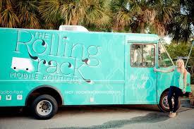 100 Mobile Fashion Truck Rolling Rack Makes Fashion Mobile Seersucker Stilettos