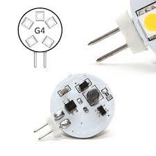 disc type g4 led bulb ac dc 12v g4 light bulb torchstar