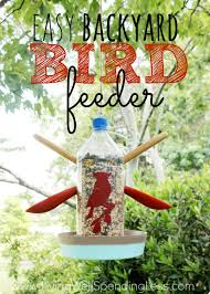Easy Backyard Bird Feeder Vertical 1 - Living Well Spending Less® Some Ways To Keep Our Backyard Birds Healthy Birds In The These Upcycled Diy Bird Feeders Are Perfect Addition Your Two American Goldfinches Perch On A Bird Feeder Eating Top 10 Backyard Feeding Mistakes Feeder Young Blue Jay First Time Youtube With Stock Photo Image 15090788 Birdfeeding 101 Lover 6 Tips For Heritage Farm Gardenlong Food Haing From A Tree Gallery13 At Chickadee Gardens Visitors North Andover Ma