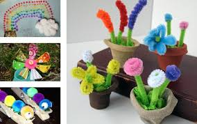 Easy Kids Spring Crafts Craft Ideas For