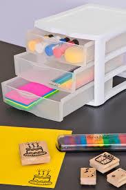 amazon com sterilite 17918004 3 drawer unit white frame with