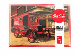 AMT 1024 1923 Ford Model T Delivery Truck Coca Cola 1/25 Plastic ...