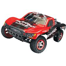 100 Slash Rc Truck Traxxas Mark Jenkins 2WD 110 Scale RC Red RC Cars