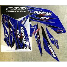 kit deco 250 raptor kit deco duncan racing 250 raptor destoquad fr accessoires