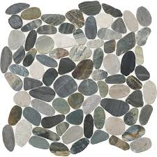 american olean mosaic tile shop american olean delfino paradise blend pebble mosaic