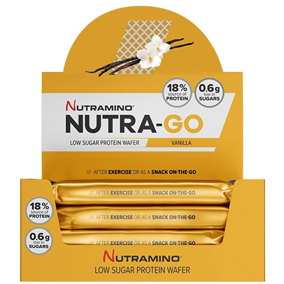 Nutramino Nutra-Go Protein Wafer 12 x 39 g Chocolate