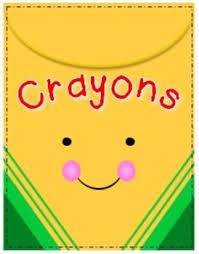 Cheerful Crayons Clipart Freebie Follow for Free