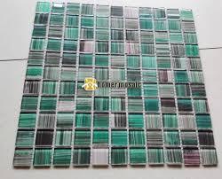 grün schwarz handgemalte diy kristall glasmosaik fliesen hmgm1157b kinder kinderzimmer küche backsplash fliesen badezimmer wandfliese