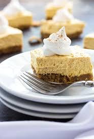 Pumpkin Gingersnap Cheesecake Bars by No Bake Pumpkin Cheesecake Bars The Blond Cook
